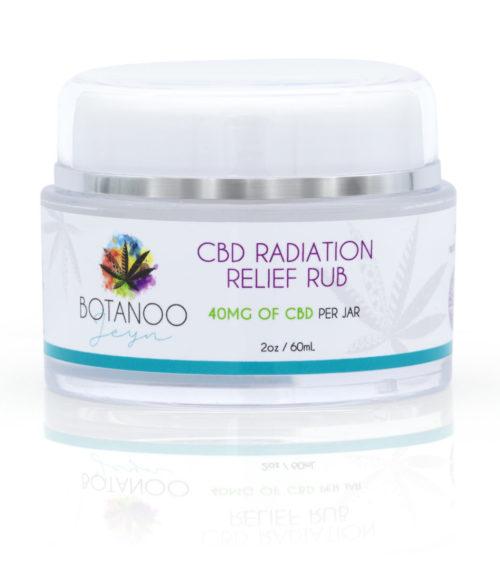 CBD Radiation Relief Cream